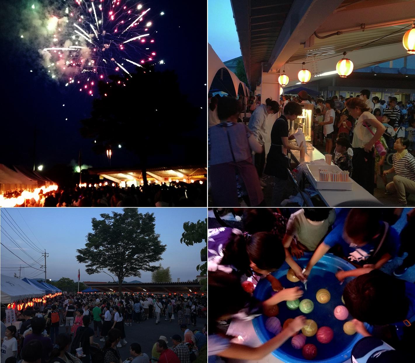 毎年恒例の花火大会